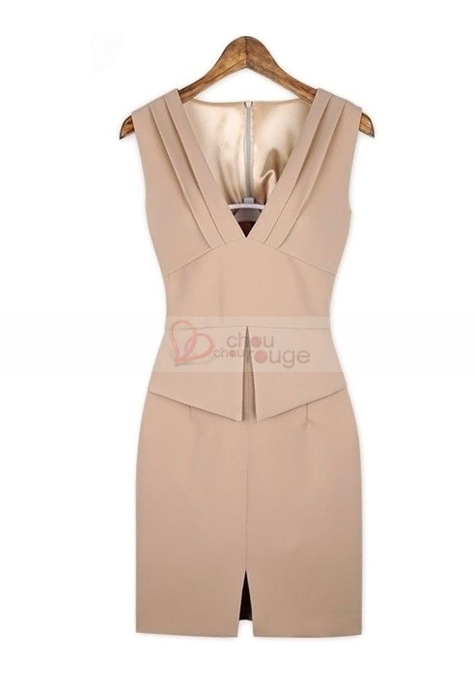 vestidos estilo sastre para mujer - Buscar con Google  55ef8500bd42