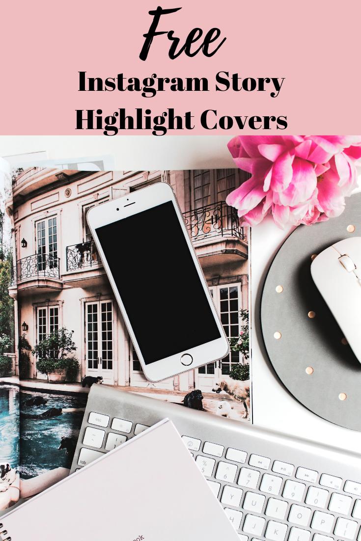 Free Instagram Story Highlight Covers | Meshko Moments Blog