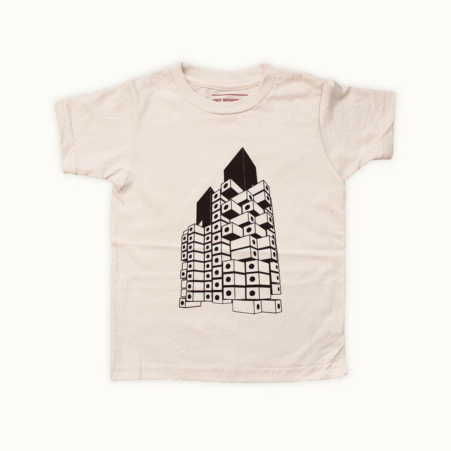 Tiny Modernism T-Shirt | Simple Flair
