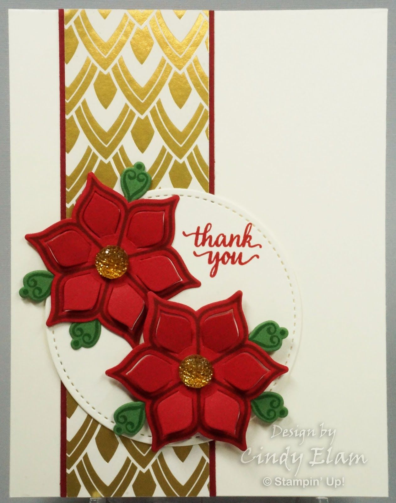 Stamp Review Crew - Eastern Beauty Review | Christmas cards, Xmas cards, Poinsettia cards
