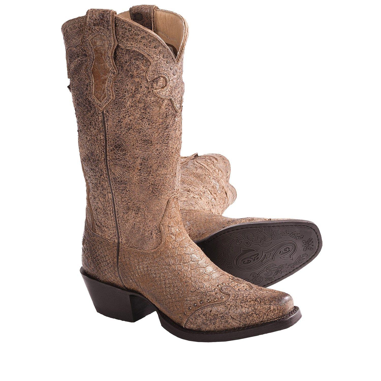 Sonora RJ Faux-Snake Cowboy Boots - 12