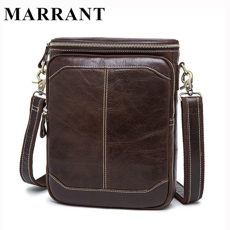 Marrant hot koop mannelijke bags 100% lederen mannen tassen Messenger  Crossbody Schoudertas mannen Casual Reistas Voor Man 8003. 2016 Mens  Cowhide Bag ... 08910b352323c