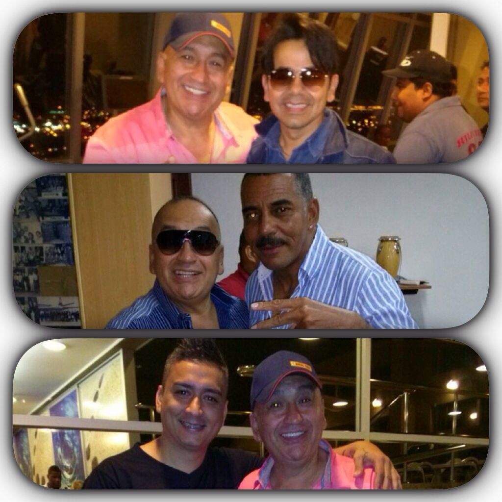 Mario de Jesús en Ecuador con Gustavo Ridriguez, Hansel Camacho y Christian Fernández concierto  www.vivalaradiotelevision.com