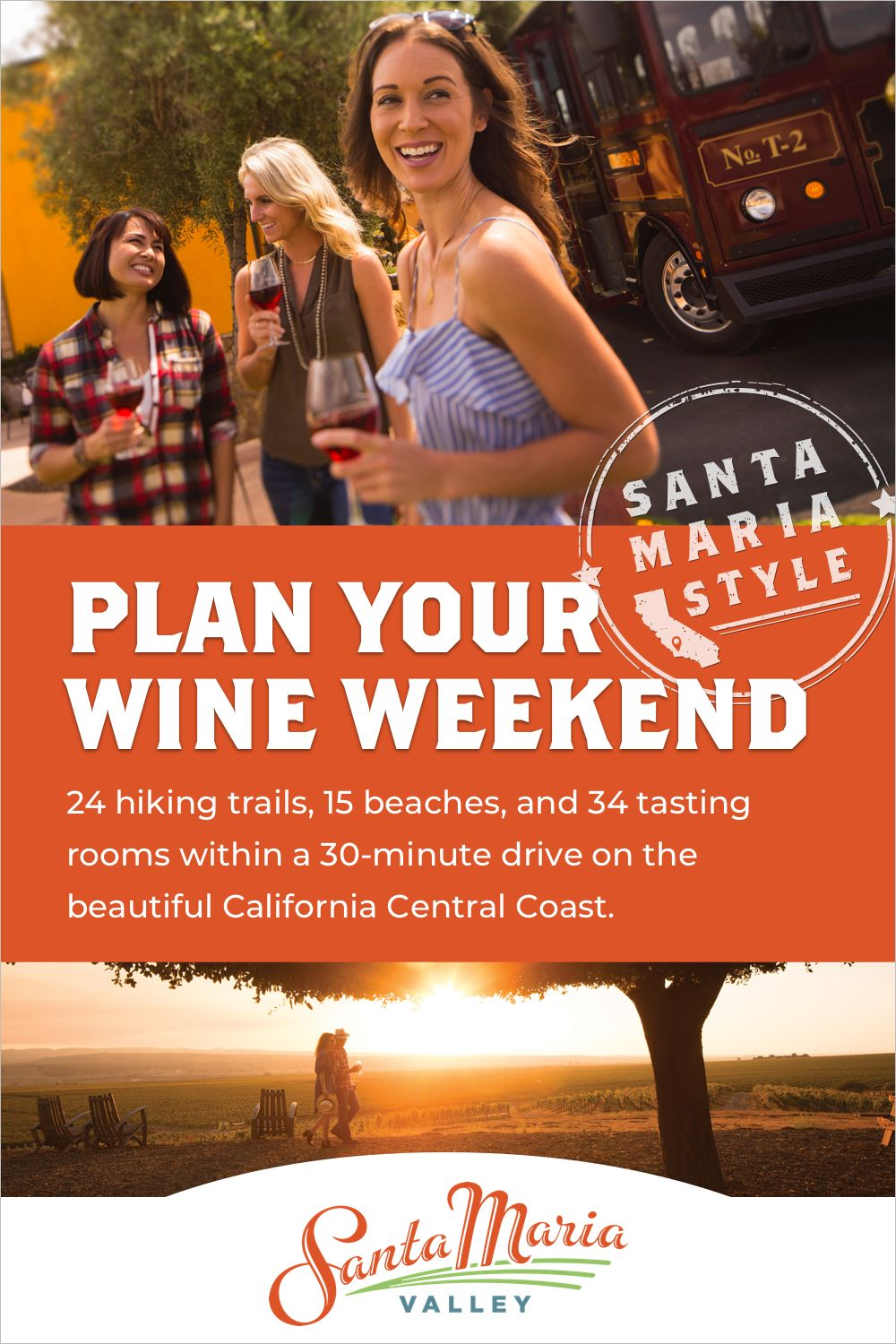 Head To Santa Maria Valley For The Perfect California Wine Weekend Start Planning Your Trip Wine Country California Plan Your Trip Weekend Getaways