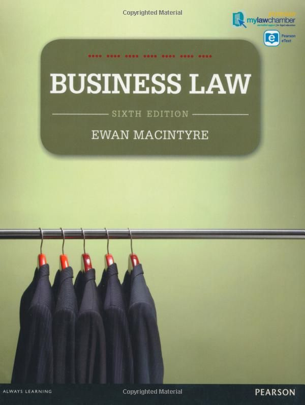 Ewan macintyre 2012 business law 6th edition 9781408292747 ebook ewan macintyre 2012 business law 6th edition 9781408292747 ebook fandeluxe Choice Image