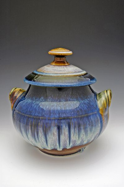Bill Campbell Cookie Jar I Have This He Makes Awesome Stuff Colorful Pottery Bill Campbell Pottery Pottery Art