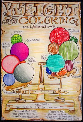 lots of unique creative poster ideas for the art classroom teaching good habits in the art class