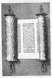 Libro del Eclesiastés Torah.jpg Textos sagrados hebreos en su forma tradicional de rollos. IdiomaHebreo y español Ver y modificar los datos en Wikidata  Texto en españolEclesiastés en Wikisource Libros sapienciales ProverbiosLibro del EclesiastésCantar de los Cantares