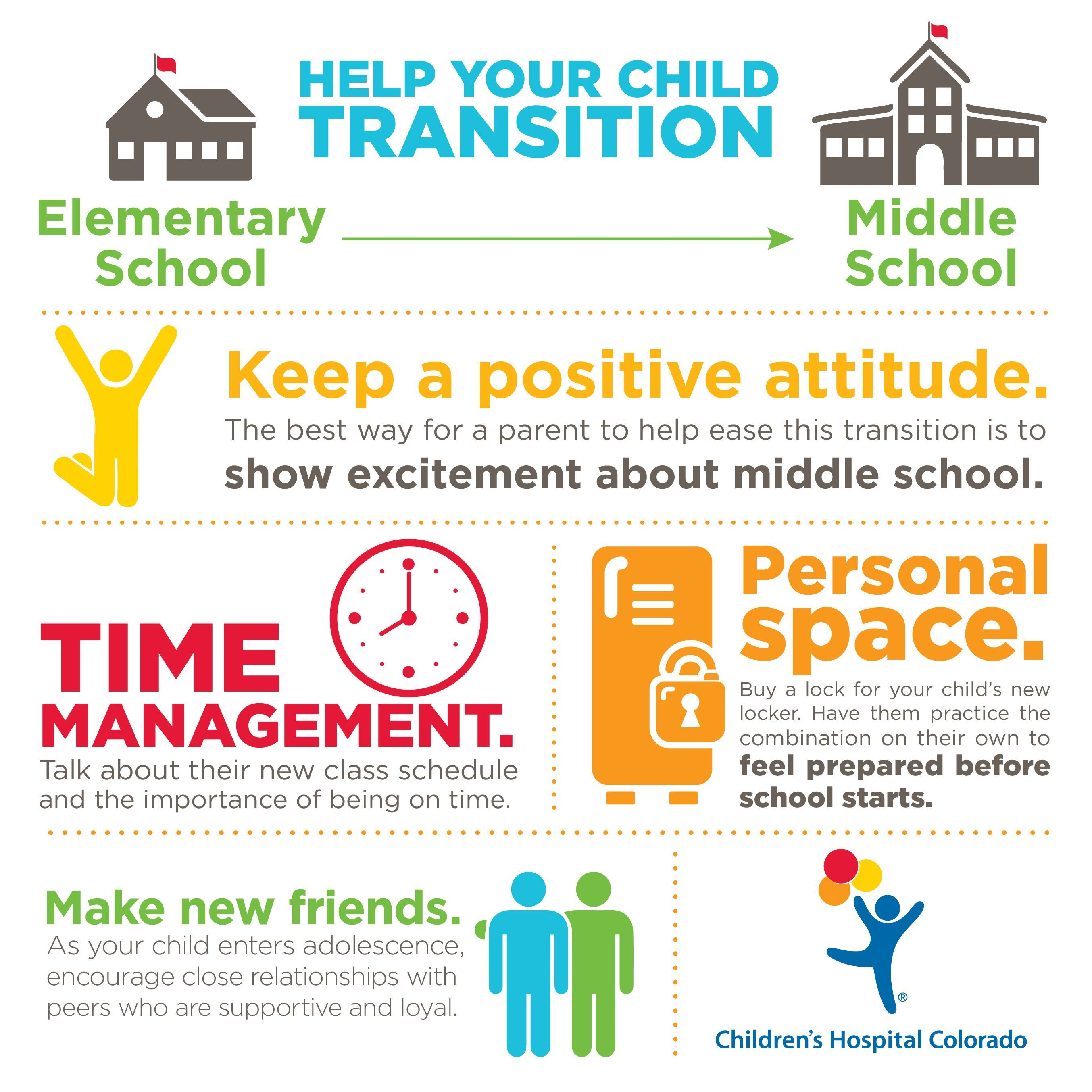 Help Your Child Transition To Middle School