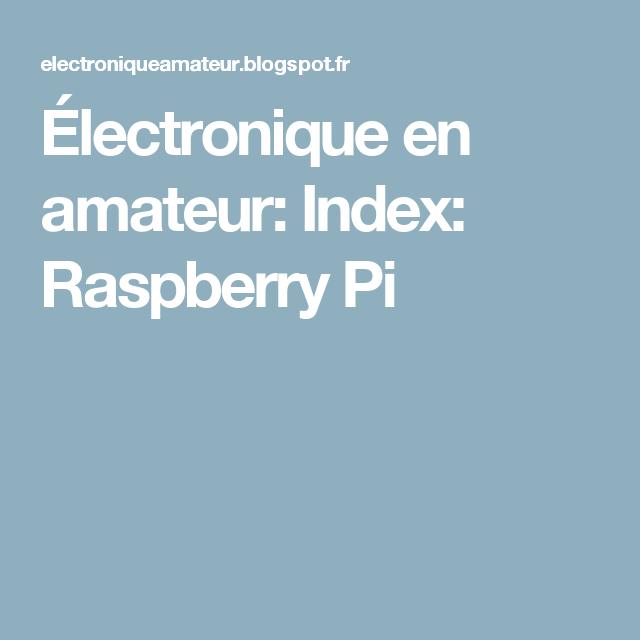 Amateur index com