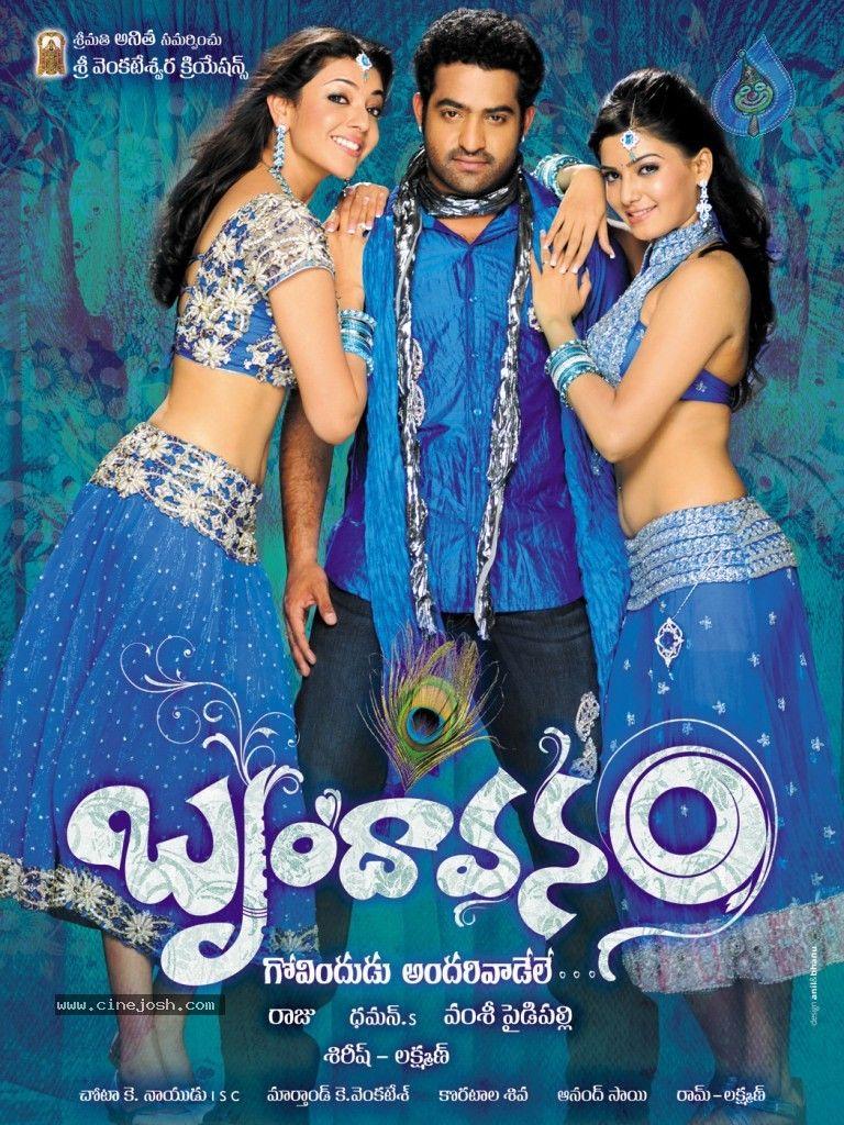 Brindavanam Movie Wallpapers Big Photo 1 Of 10 Images New Upcoming Movies Telugu Movies Movie List