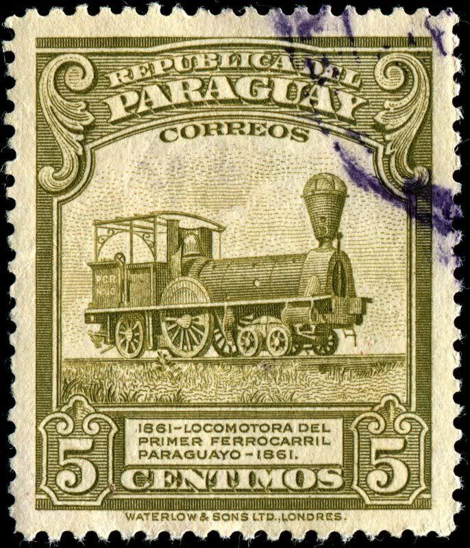 1944 Waterlow Paraguay Locomotive
