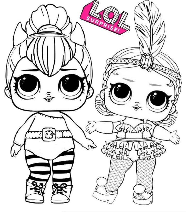 Spice And Showbaby Lol Surprise Coloring Page Lol Dolls Cute Coloring Pages Coloring Pages