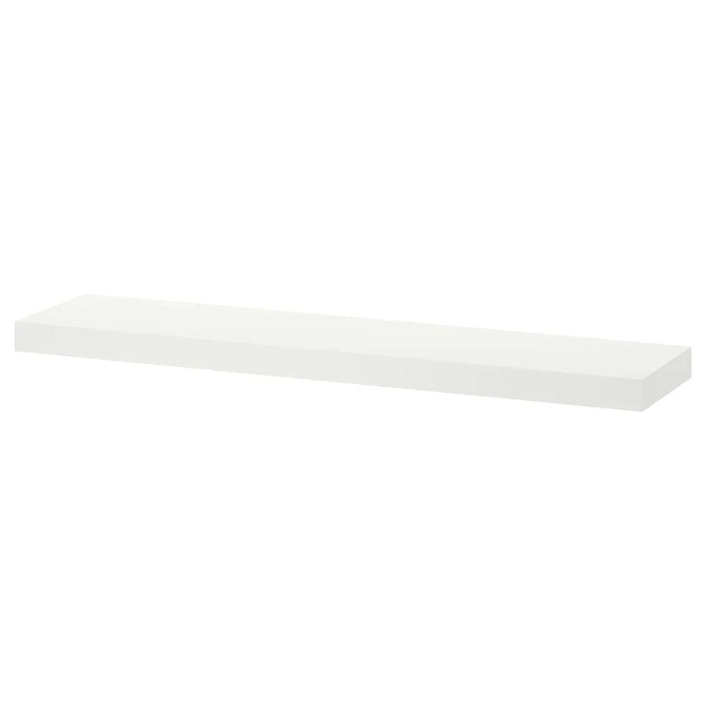 Tablette Murale A Fixation Invisible lack Étagère murale - blanc 110x26 cm   etagere tiroir