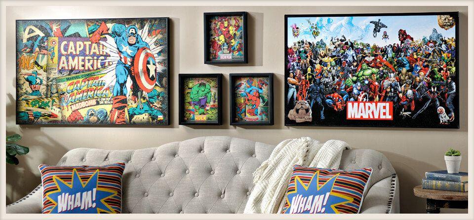 Comic Collection Marvel Decor Decor Kirkland Home Decor
