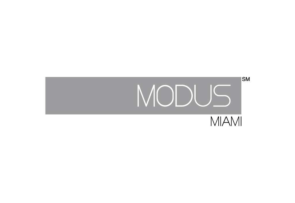 MODUS   Client MODUS MIAMI   Project Logo and Logotype - Corporate Identity