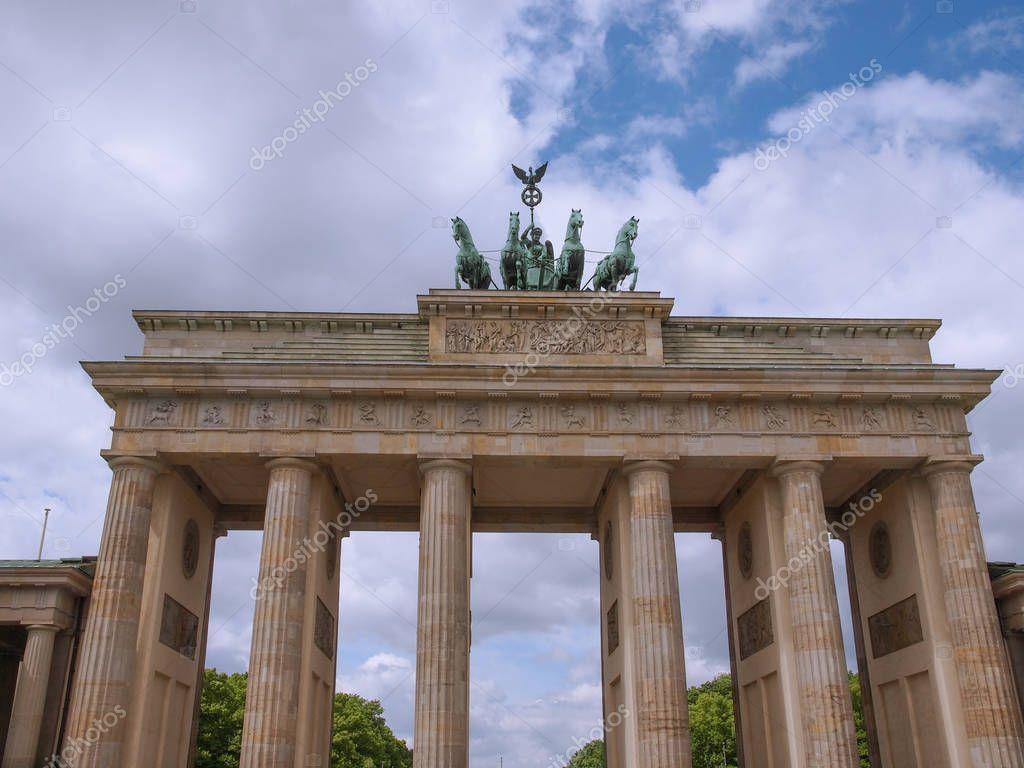 Brandenburger Tor Brandenburg Gate Famous Landmark Berlin Germany Stock Affiliate Brandenburg Gate Bra In 2020 Brandenburg Gate Brandenburg Famous Landmarks