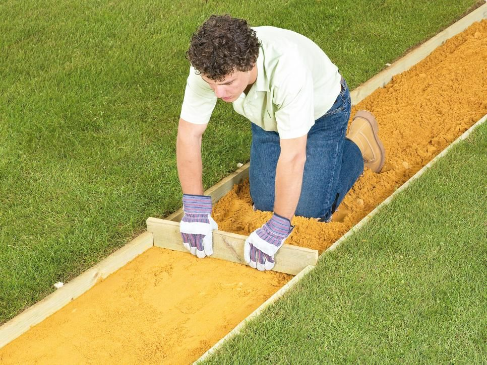 How to Lay a Brick Pathway | Walkways, Paver walkway and Brick walkway