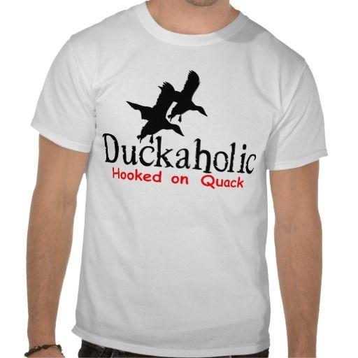 DUCK HUNTING T-Shirt | Zazzle.com