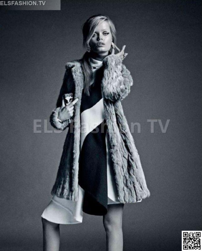Marie Claire France September 2015 - Model Frida Aasen