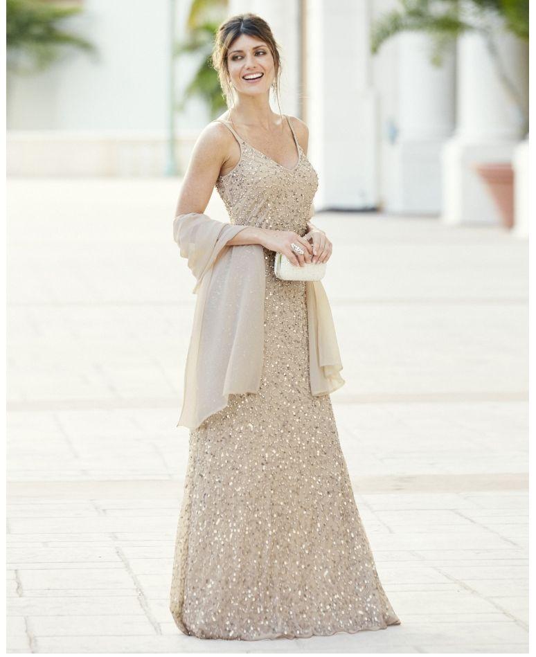 Joanna Hope Beaded Maxi Dress And Scarf At Jd Williams From Marisota