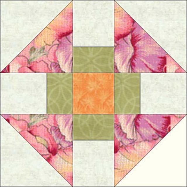 Free Quilt Block Patterns, F through L: Monkey Wrench Quilt Block ... : 4 quilt block patterns - Adamdwight.com