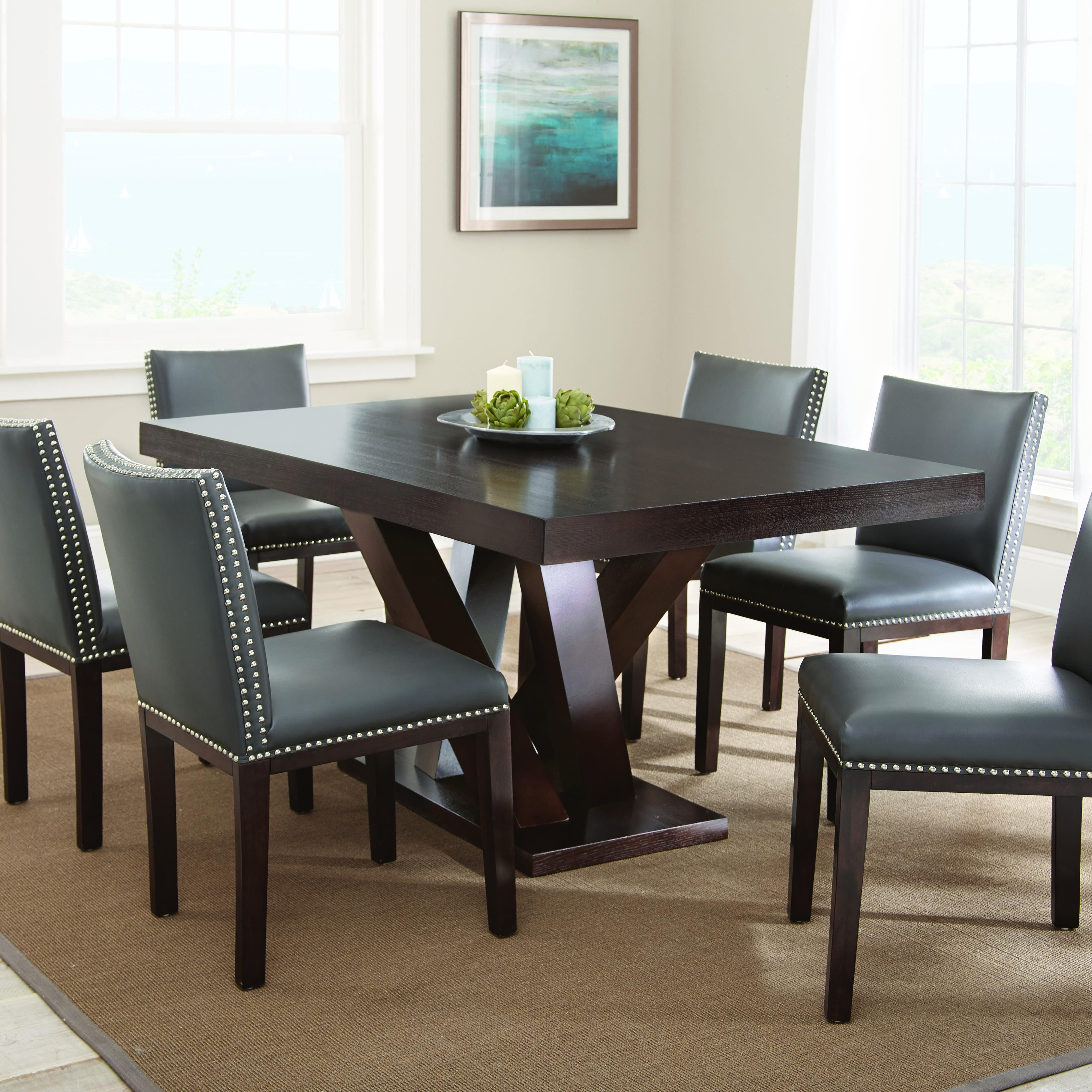 Tiffany 7 Piece Dining Set By Steve Silver