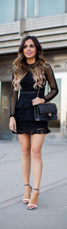Mesh Details // Fashion Look by Mia Mia Mine