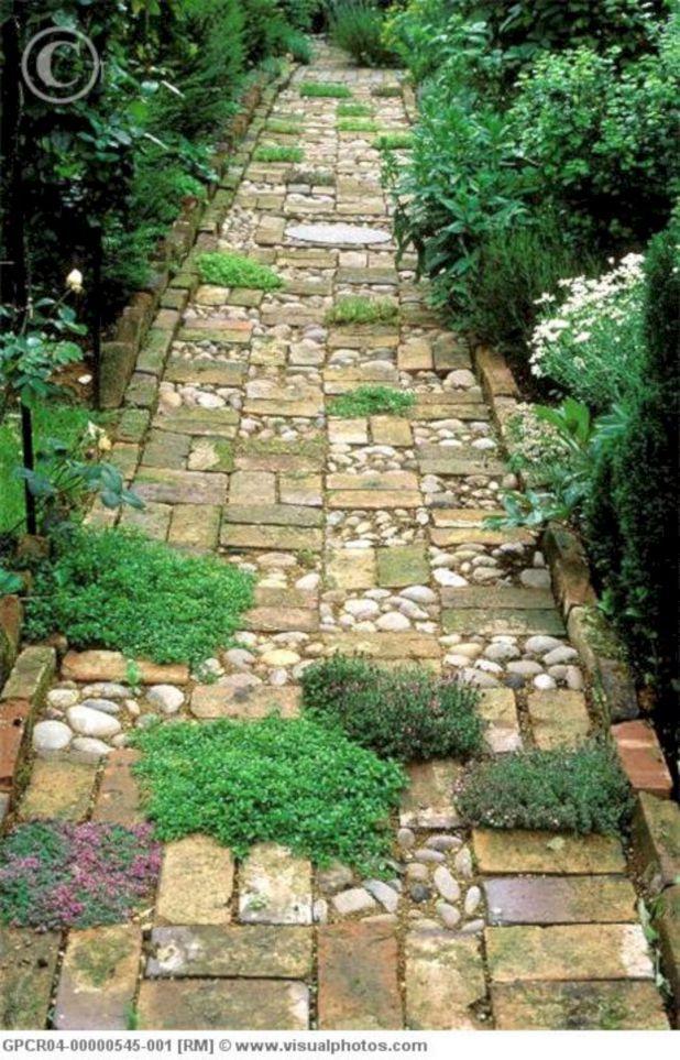 Rock Pathway Ideas Part - 34: 55 Gorgeous Rock Pathway Design Ideas To Enhance Your Beautiful Garden