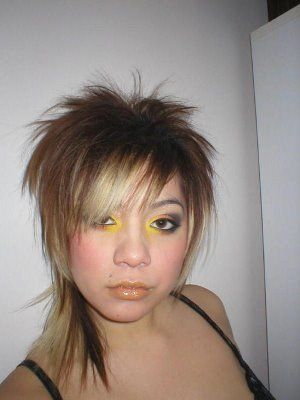 Fashion mullet (With images) | Emo hair, Mullet hairstyle ...