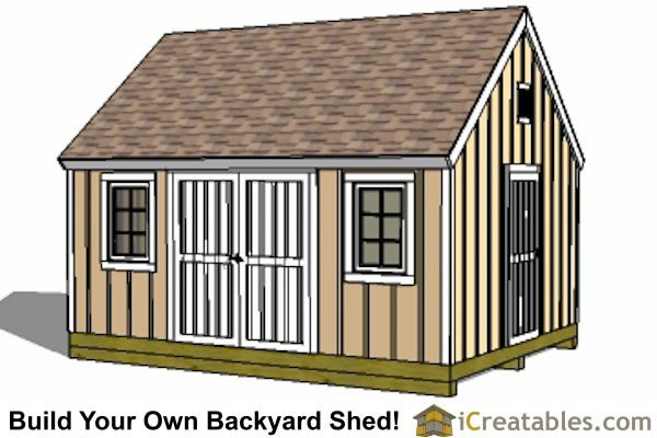 Best 25 shed plans 12x16 ideas on pinterest shed plans for Garden shed plans pdf