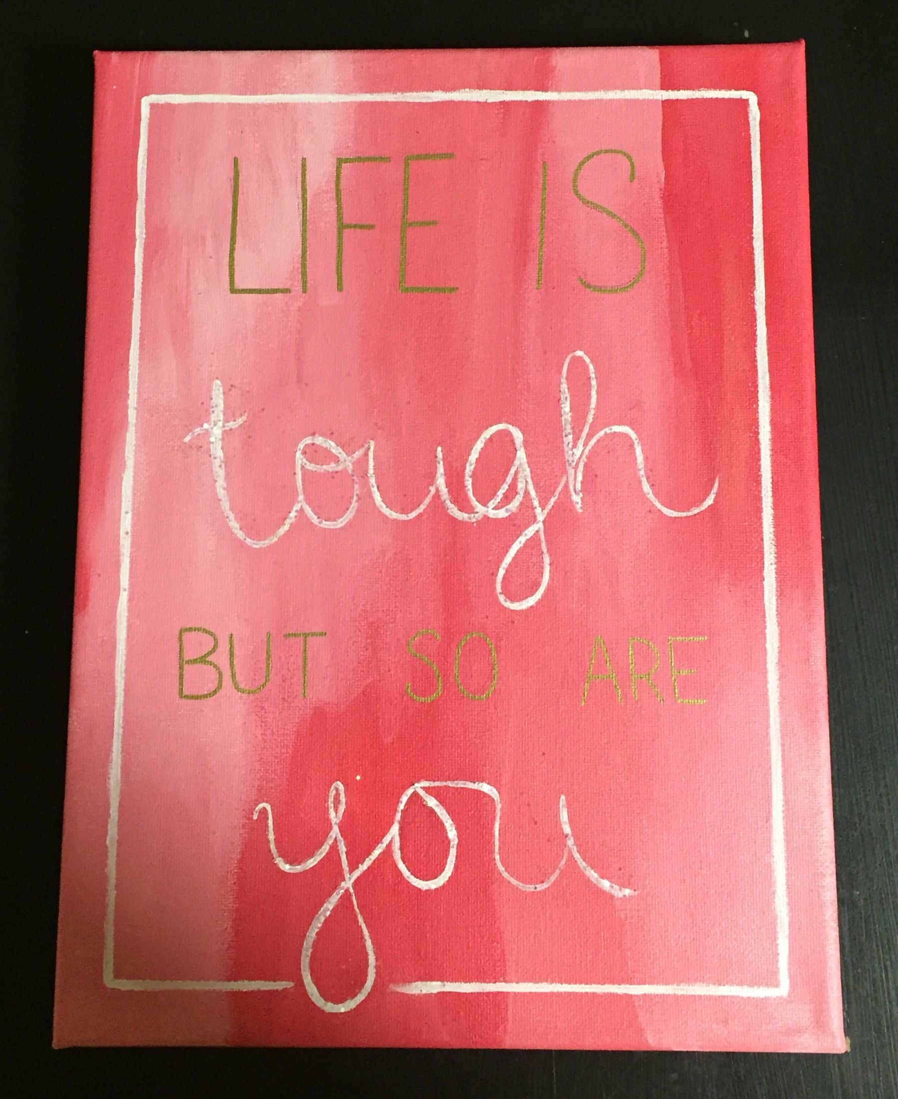 Life Canvas Quote Sorority Crafts  Canvas  Quotes  Inspirational  Sorority