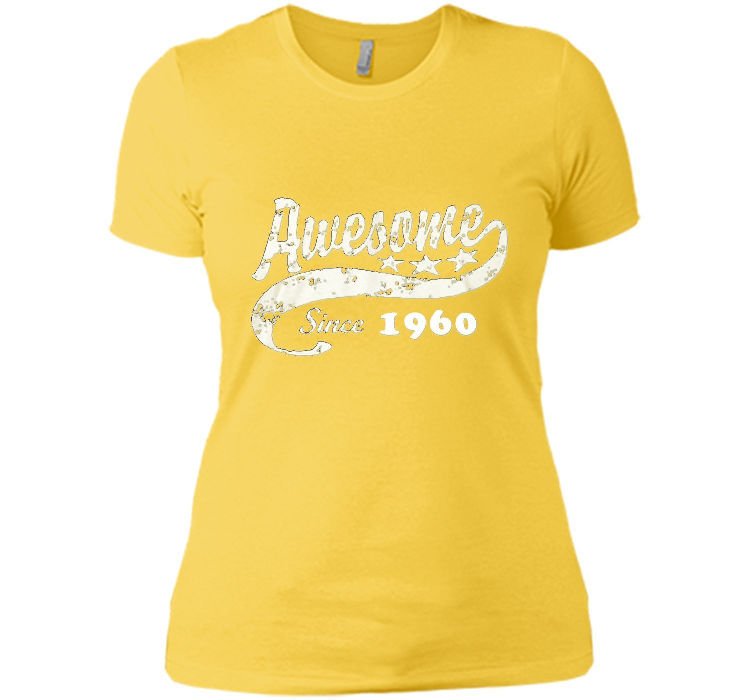 Awesome Since 1960 Great Shirt For Birthday Gift