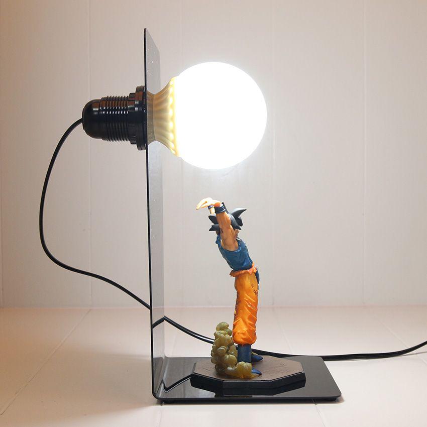 Dragon Ball Z Son Goku Genki Dama Action Figure Nakama Store Diy Lamp Diy Electrical Lamp