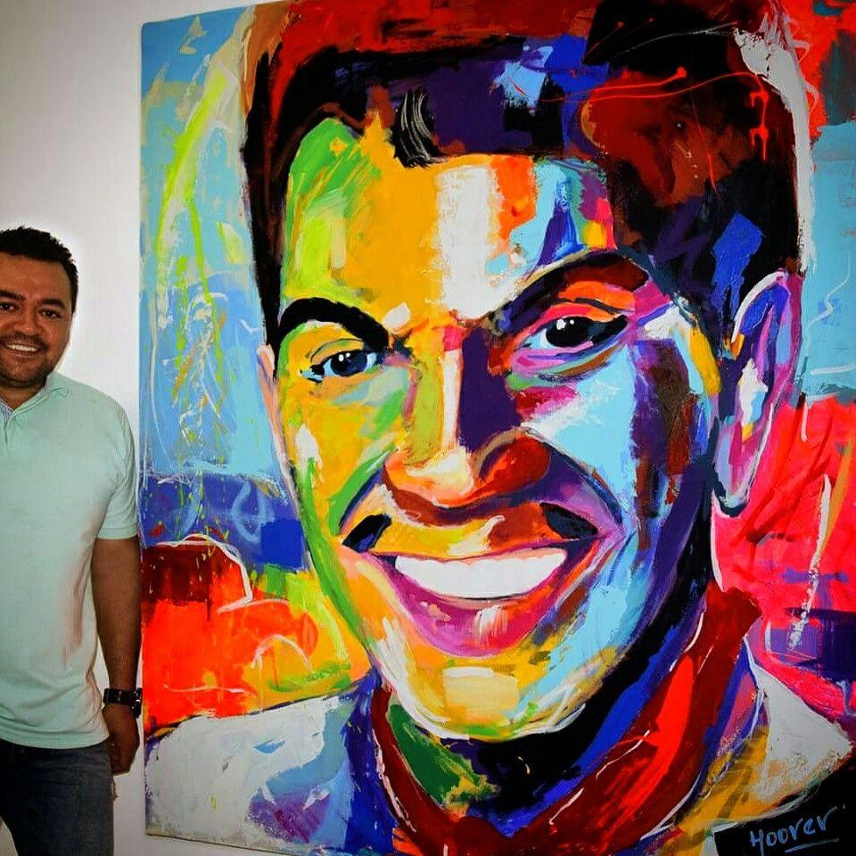 Acr lico sobre lienzo 150x140 cantinflas cuadros - Acrilico sobre lienzo ...