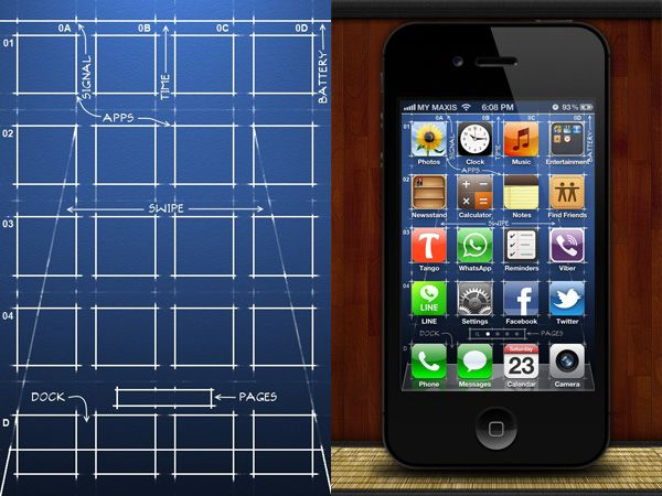 40 Creative IPhone Wallpapers To Make Your Apps Look Good