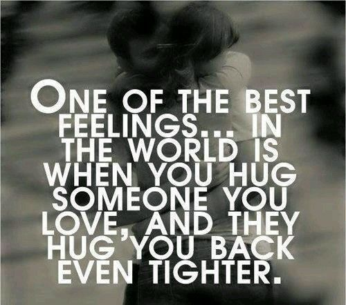 your hug means everything to me   i miss you   TyC