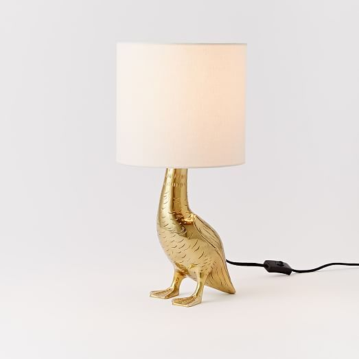 Rachel kozlowski mallard duck table lamp west elm