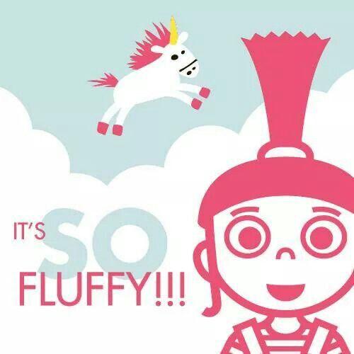 It's so fluffy!!!