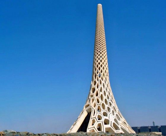 Lighthouse In Saudi Arabia Lighthouse Eco Architecture Green Building