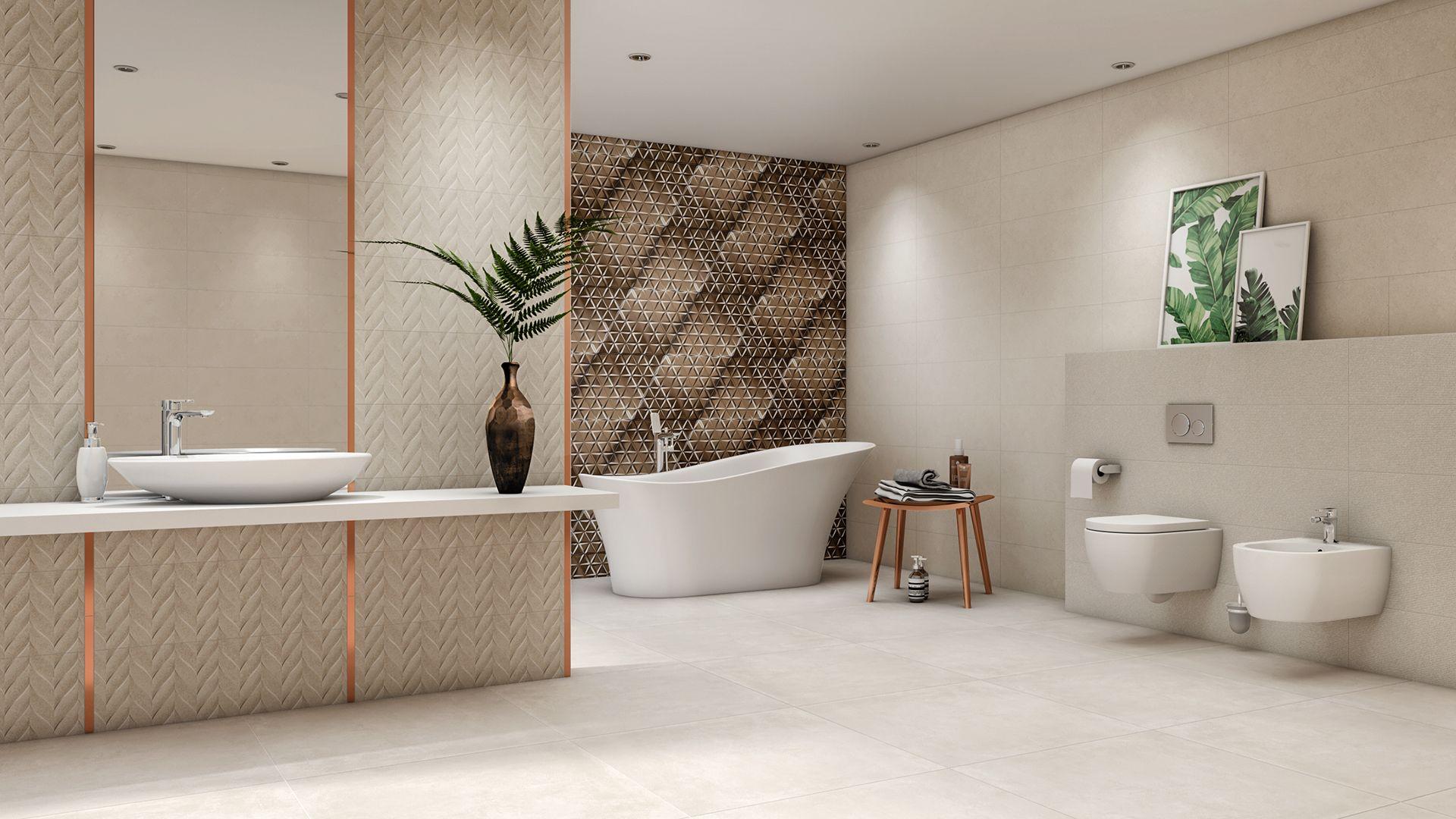 Foornipl łazienka Ze Złotymi Akcentami Mozaika I Listwy