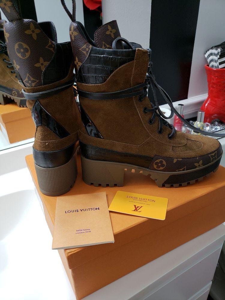 Boots, Louis vuitton boots, Desert boots