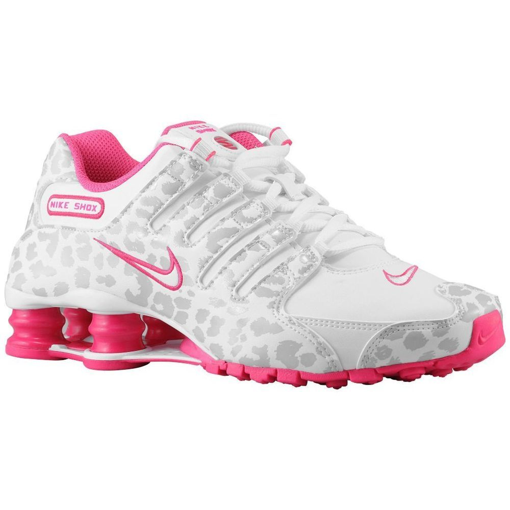 low priced 41e8e 08c63 Nike Shox NZ - Women s - White Metallic Platinum ~Leopard Print~More Sizes  Added  Nike  RunningCrossTraining