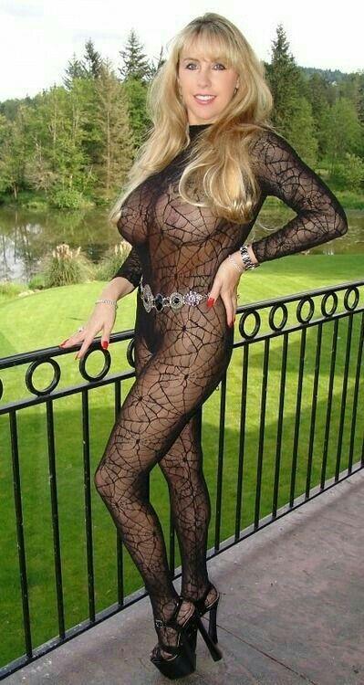 women mature Body stocking