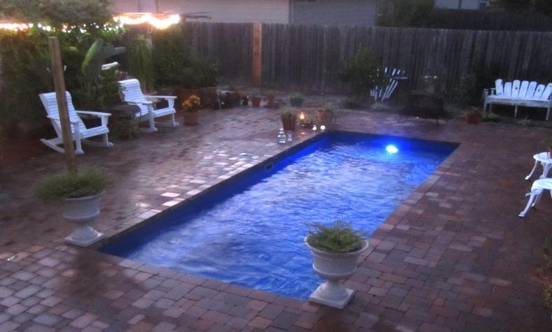Palladium Plunge Pool Pool Cost Small Inground Pool Fiberglass