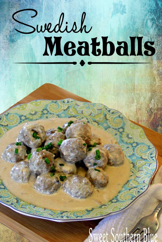 Super Easy Swedish Meatballs Food Sweet Southern Blue Recipes Meatball Bake Swedish