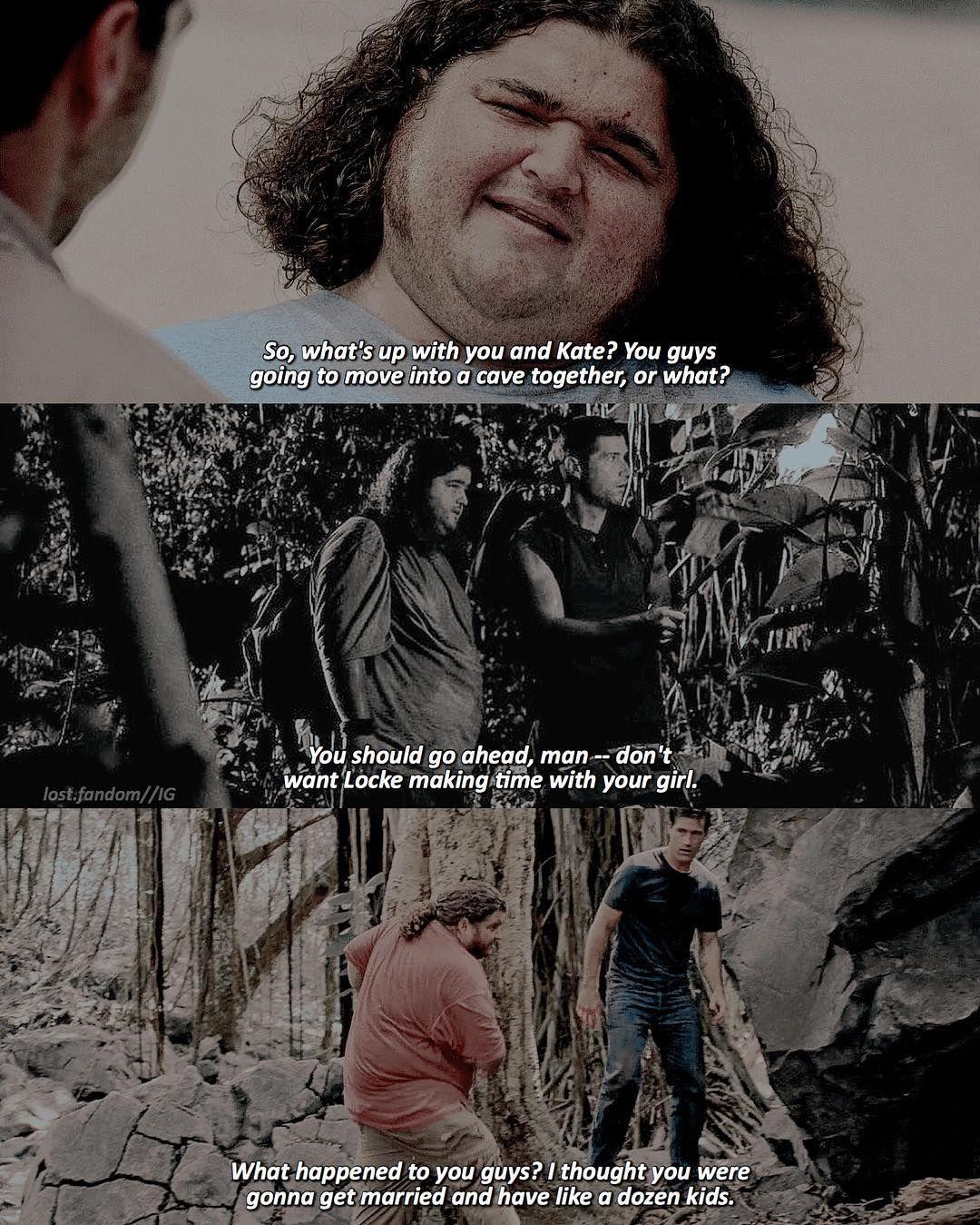 Lost Lost Fandom On Instagram 1x06 2x01 6x05 Hurley