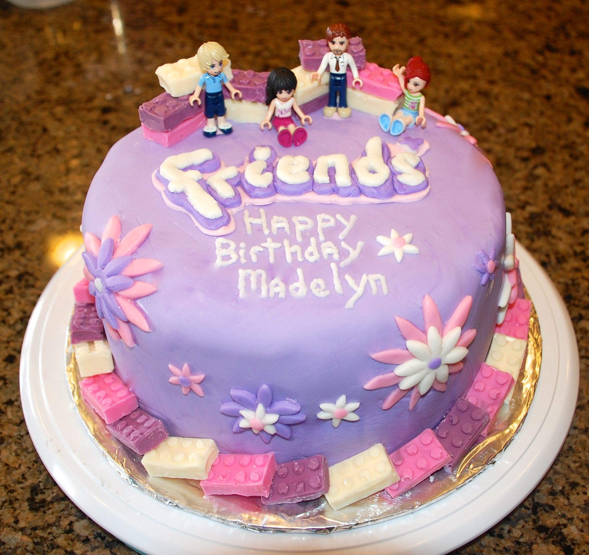 Lego Friends Cake Pesquisa Do Google Friends Birthday Cake