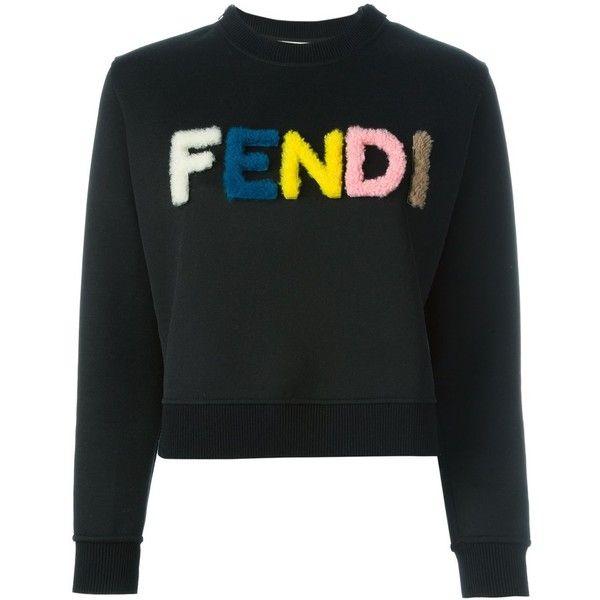 5da54a6f09a02 Fendi logo sweatshirt ( 1