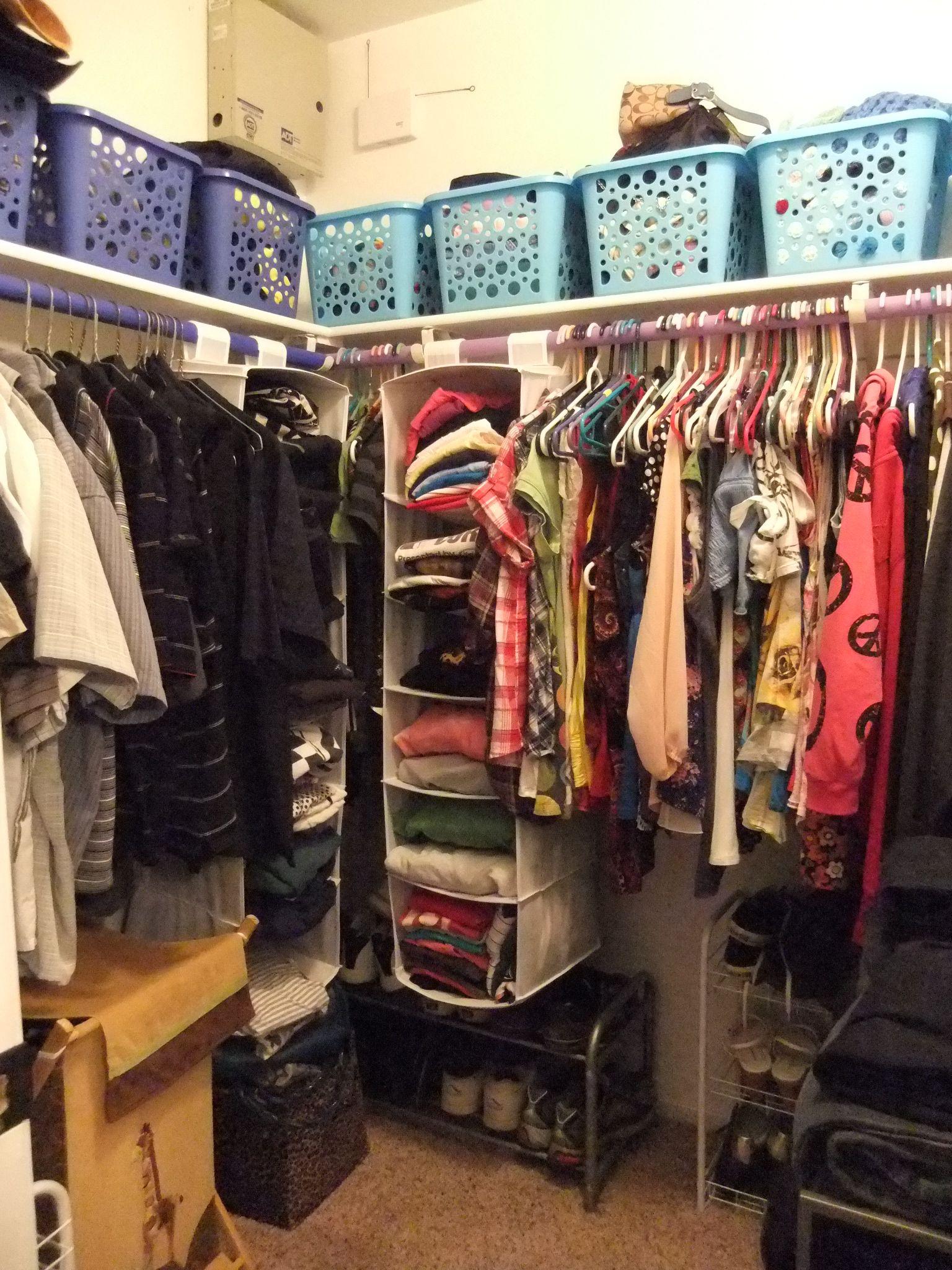 Apartment Closet Organization Ideas Clothes